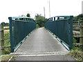 TF6312 : Footbridge over Polver Drain, Setchey by Evelyn Simak
