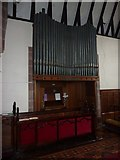SD0799 : St Peter's Church, Drigg, Organ by Alexander P Kapp