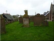 SD0799 : St Peter's Church, Drigg, Graveyard by Alexander P Kapp