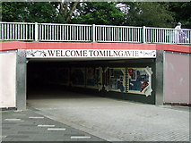 NS5574 : Welcome to Milngavie by Thomas Nugent