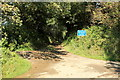 SS2318 : Entrance to Well Lane by Rob Noble