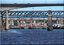 NZ2362 : The River Tyne by Peter McDermott