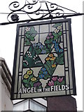 TQ2881 : The Angel in the Fields on Thayer Street by Ian S