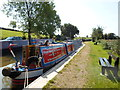 SK3409 : Working Narrow Boat Hadar moored at Snarestone by Keith Lodge