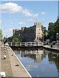 SK7953 : Newark Town Lock  by Alan Murray-Rust