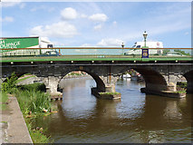 SK7954 : Trent Bridge, Newark  by Alan Murray-Rust
