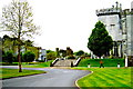 R3870 : Dromoland Castle Grounds - Driveway to Entrance on SE Side by Suzanne Mischyshyn