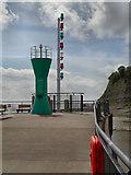 ST1972 : Beacon, Cardiff Bay by David Dixon