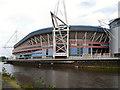 ST1776 : The Millennium Stadium by David Dixon
