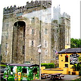R4560 : Bunratty - Castle & Durty Nelly's Pub by Suzanne Mischyshyn