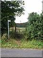 SP9832 : Greensand Ridge walk enters the Woburn estate by Philip Jeffrey