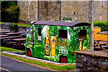 R4560 : Bunratty - Durty Nelly's Pub - Outdoors Bar by Suzanne Mischyshyn