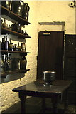 R4560 : Bunratty Folk Park - Site #4 - Castle - Kitchen Area in Tower by Suzanne Mischyshyn