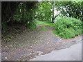 SO2810 : Green Lane above Llanellen by James Ayres