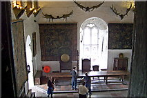 R4560 : Bunratty Folk Park - Site #4 - Castle - The Great Hall on 3rd Central Level by Suzanne Mischyshyn