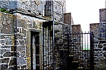 R4560 : Bunratty Folk Park - Site #4 - Castle - Top of Tower by Suzanne Mischyshyn
