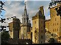 ST1776 : Cardiff Castle by David Dixon