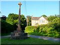 ST2823 : Thornfalcon Village Cross by Nigel Mykura