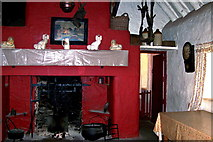 R4560 : Bunratty Folk Park - Site #7 - Shannon Farmhouse - Fireplace by Suzanne Mischyshyn