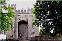 R4560 : Bunratty Folk Park - Site #4 - Bunratty Castle - North Side by Suzanne Mischyshyn