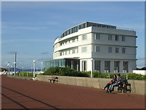 SD4264 : Morecambe Promenade and Midland Hotel by Malc McDonald