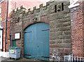 SJ5177 : Frodsham - Barracks entrance by Dave Bevis
