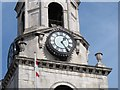 TQ3279 : Clock of St George the Martyr church by Stephen Craven