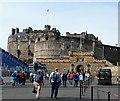 NT2573 : Edinburgh Castle - eastern aspect by Rob Farrow