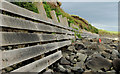 C9242 : Sea defences, Portballintrae (2) by Albert Bridge