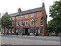 SK7953 : Cafe Bleu, Castlegate, and neighbour  by Alan Murray-Rust