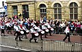 SD5429 : Preston Guild Trades Procession 2012 (007) - Phoenix Drum & Trumpets Corps by L S Wilson