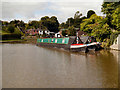 SJ6374 : Barnton Canal Basin, Trent and Mersey Canal by David Dixon