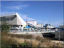 TQ3884 : Aquatic Centre, Olympic Park by Paul Gillett