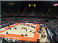 TQ3785 : Warm up for Wheelchair Rugby by Paul Gillett