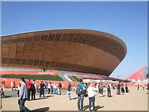 TQ3785 : Velodrome, Olympic Park by Paul Gillett