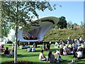 TQ3785 : Stage in Olympic Park by Paul Gillett