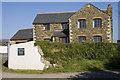 SW7754 : Higher Reen farmhouse by Elizabeth Scott