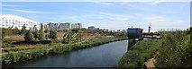 TQ3785 : River Lea through Park Live by Oast House Archive