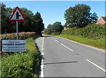 SO4382 : Small layby, Corvedale Road, Craven Arms by Jaggery