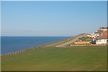 TQ4100 : Clifftop Walk, Peacehaven by Trevor Harris