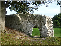 TQ4109 : Part of the ruins of the Priory of St Pancras, Lewes by Marathon