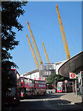 TQ3979 : North Greenwich Bus Station by Oast House Archive