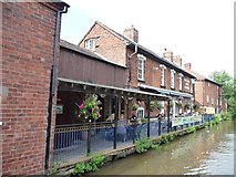SO9466 : The Boat and Railway canalside pub by Christine Johnstone