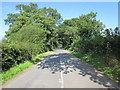 SJ4956 : Dark Lane near Tattenhall by Jeff Buck