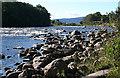 NO4998 : River Dee by Anne Burgess