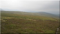 NO0380 : A moorland ridge, Fealar by Richard Webb