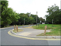 TQ2255 : Mere Road at the junction of Deans Lane by David Howard