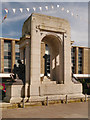 SD7109 : Bolton Great War Memorial, Victoria Square by David Dixon