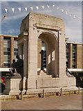 SD7109 : Bolton Great War Memorial, Victoria Square by David Dixon