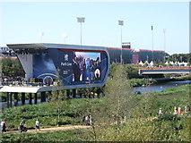 TQ3785 : Park Live, Olympic Park by David Anstiss